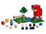 LEGO® Minecraft The Wool Farm (21153) released in (2019) - Image: 1