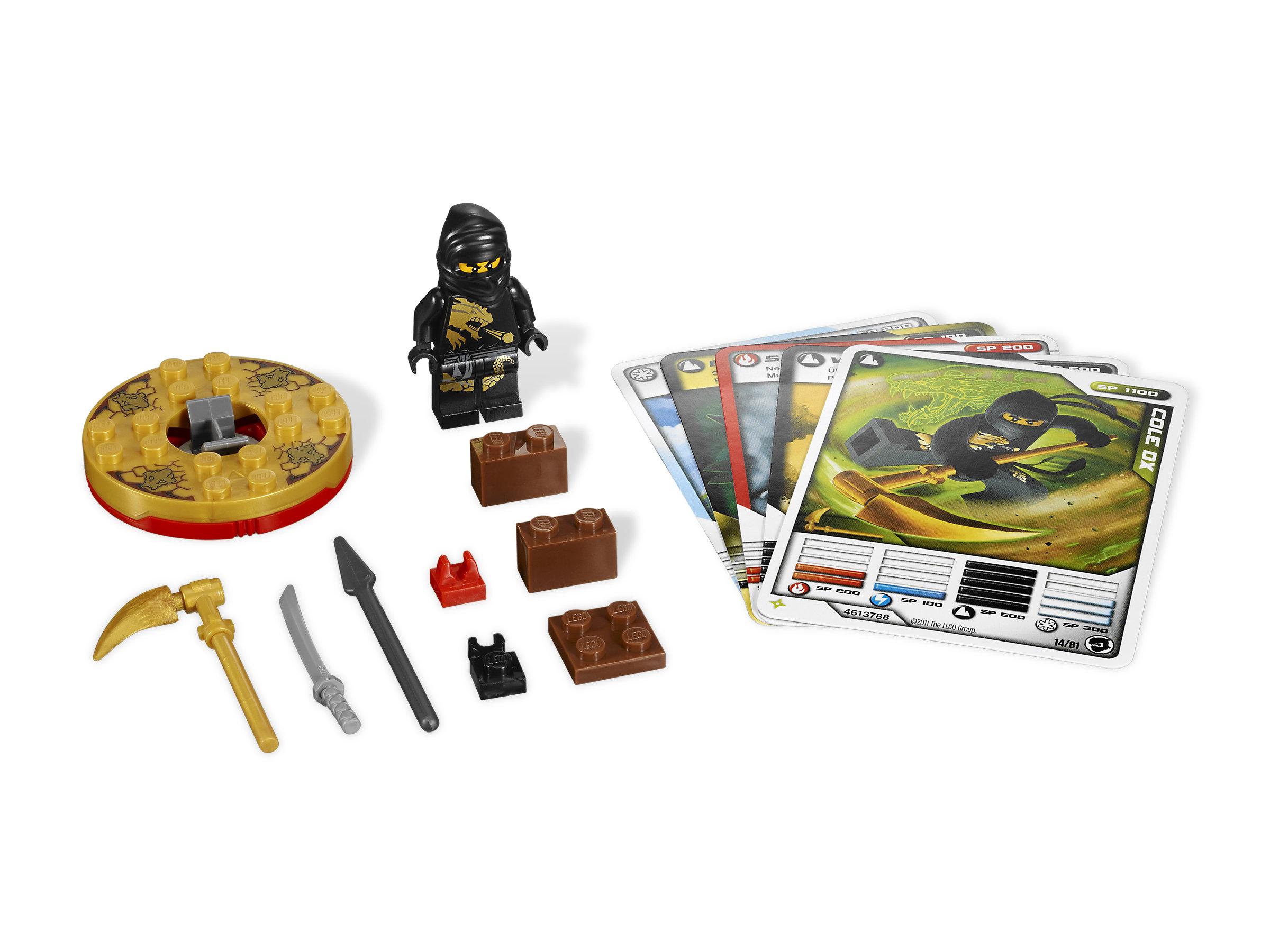Lego Ninjago Cole Dx 2170 1