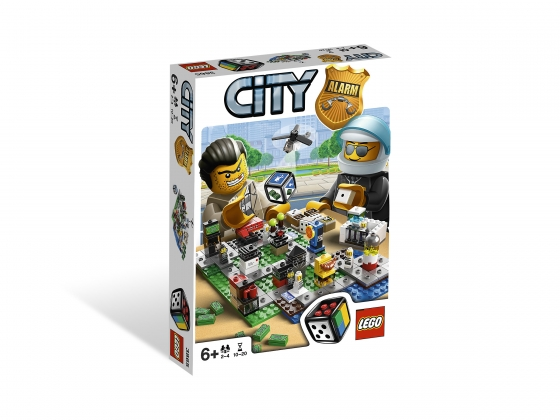 LEGO® Gear LEGO® City Alarm (3865-1) erschienen in (2012) - Bild: 1