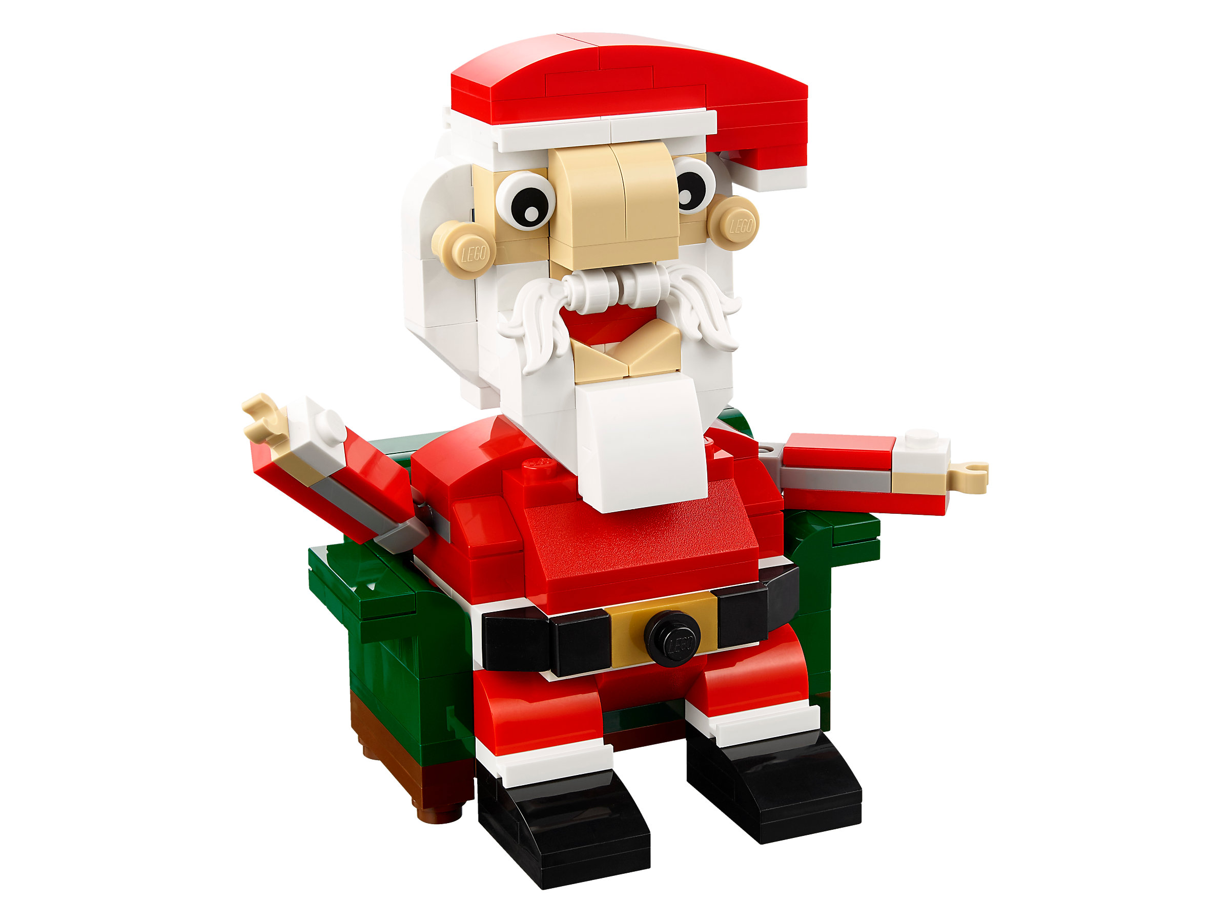 LEGO Santa Claus holiday seasonal Christmas set 40206 new sealed