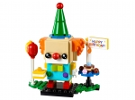 LEGO® BrickHeadz Birthday Clown (40348) released in (2019) - Image: 1