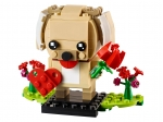 LEGO® BrickHeadz Valentine's Puppy (40349) released in (2019) - Image: 1
