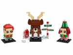 LEGO® BrickHeadz Reindeer, Elf and Elfie (40353) released in (2019) - Image: 1
