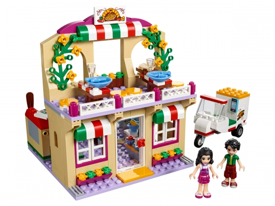 LEGO® Friends Heartlake Pizzeria (41311-1) erschienen in (2016) - Bild: 1