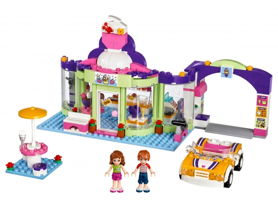 LEGO® Friends Heartlake Frozen Yogurt Shop (41320) released in (2017) - Image: 1