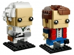 LEGO® BrickHeadz Marty McFly und Doc Brown (41611-1) erschienen in (2018) - Bild: 1