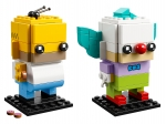 LEGO® BrickHeadz Homer Simpson und Krusty der Clown (41632-1) erschienen in (2018) - Bild: 1