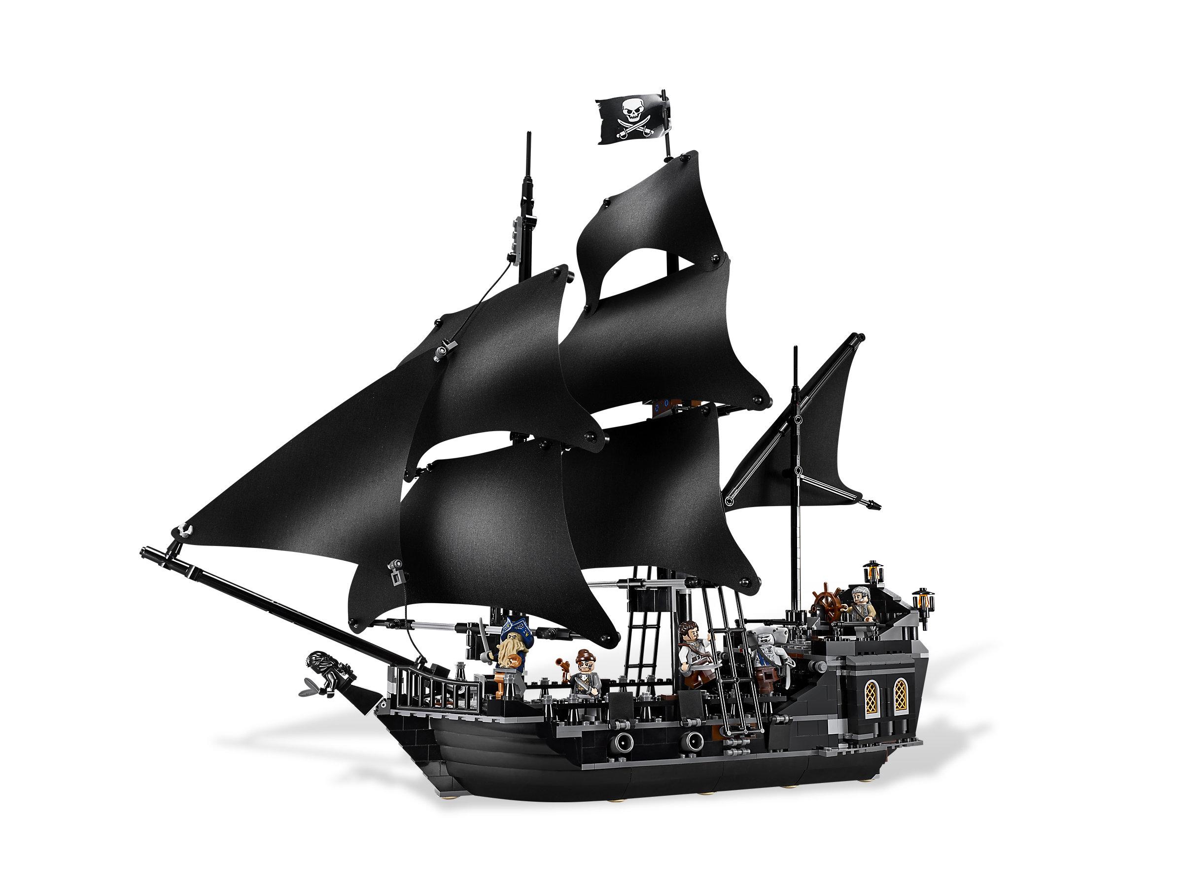 Black Pearl Ship  Captain Jack Sparrow Lego 4184 Model 2020 New