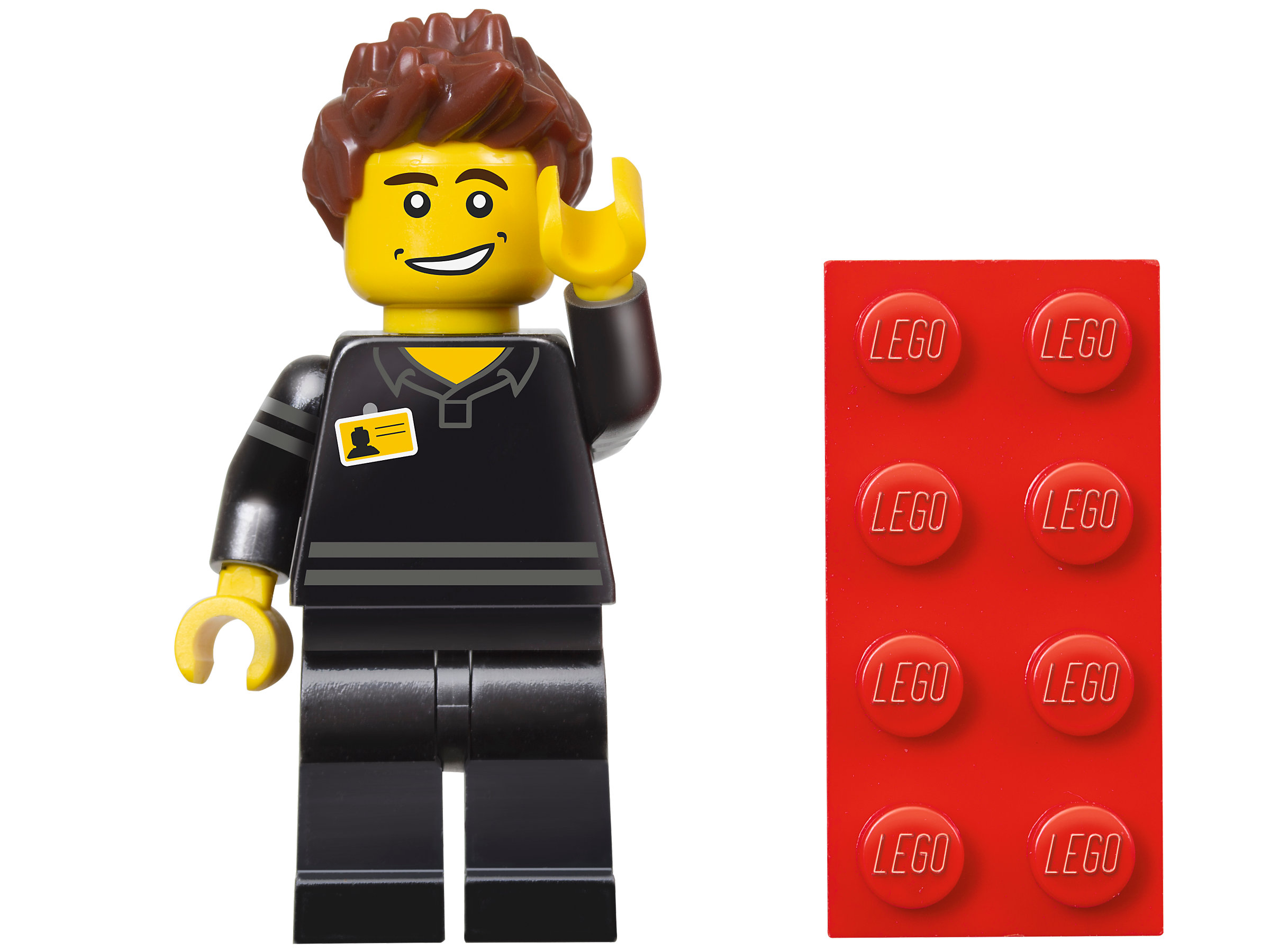 *BRAND NEW* Lego 5001622 LEGO STORE EMPLOYEE Minifig Polybag