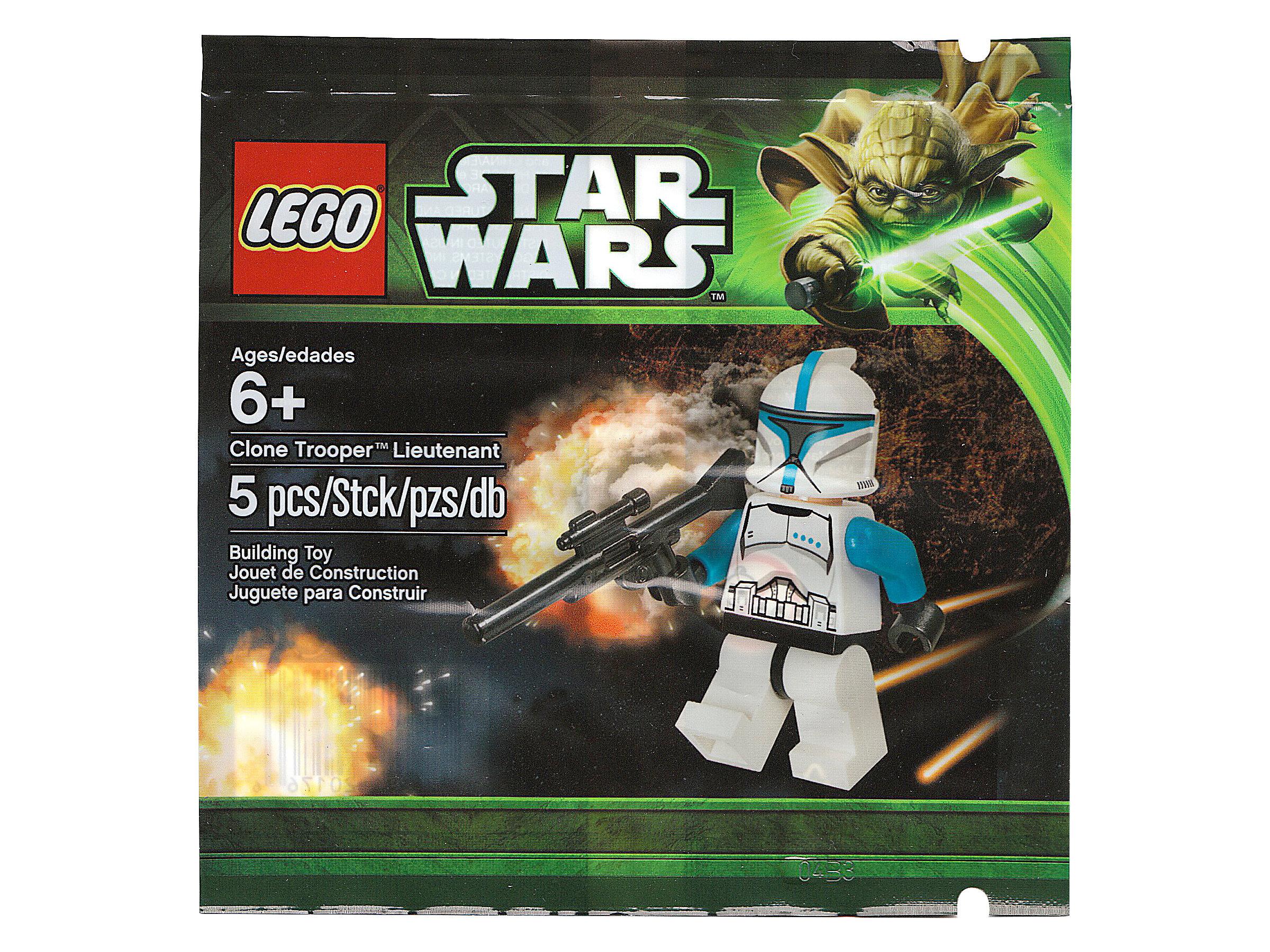 Lego Star Wars Clone Trooper Lieutenant Polybag New Sealed