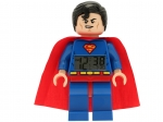 LEGO® Gear DC Comics™ Super Heroes Superman™ Minifigure Clock (5002424-1) released in (2013) - Image: 1
