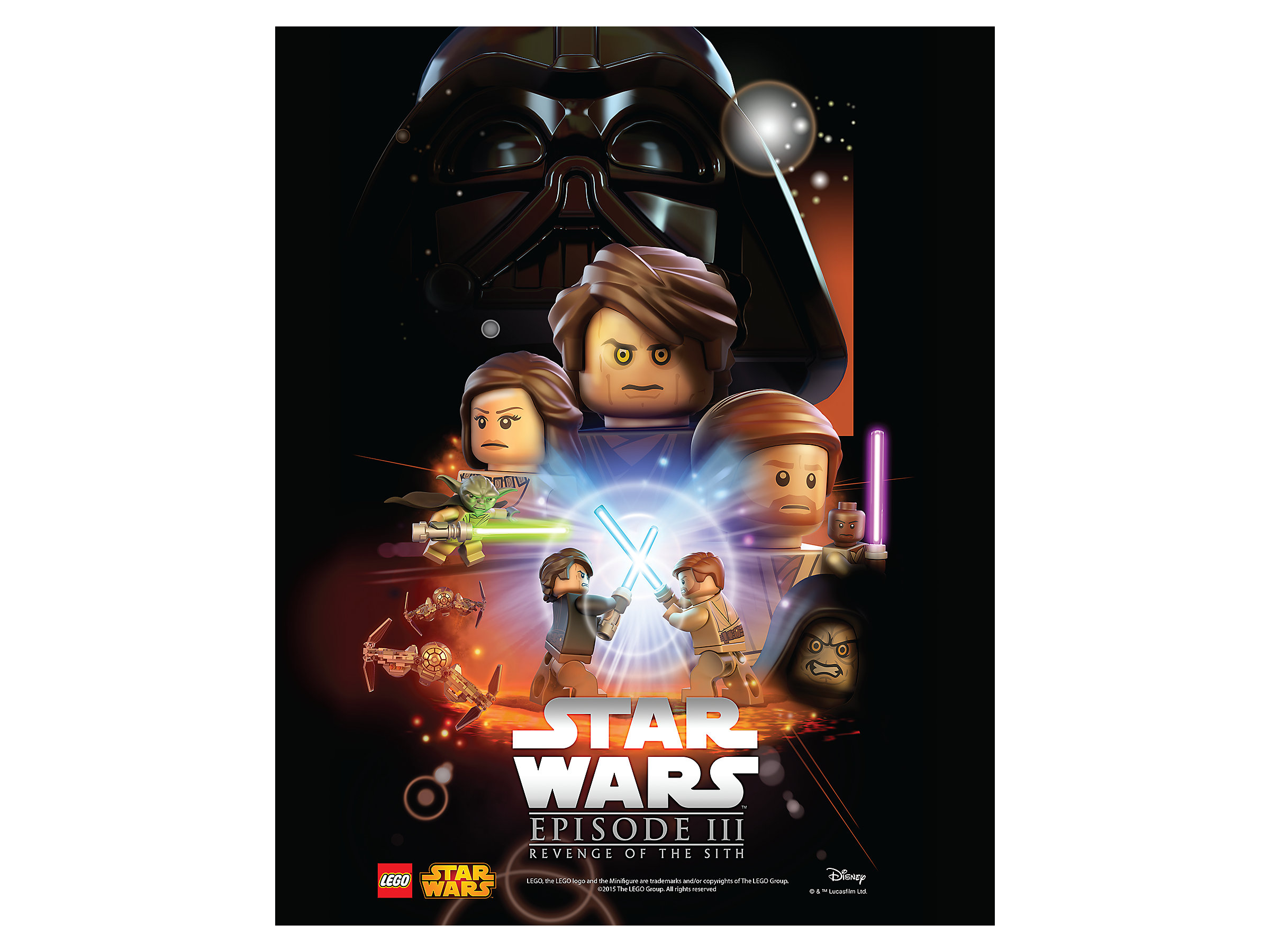Lego Movies Lego Star Wars Episode Iii Revenge Of The Sith 5004746