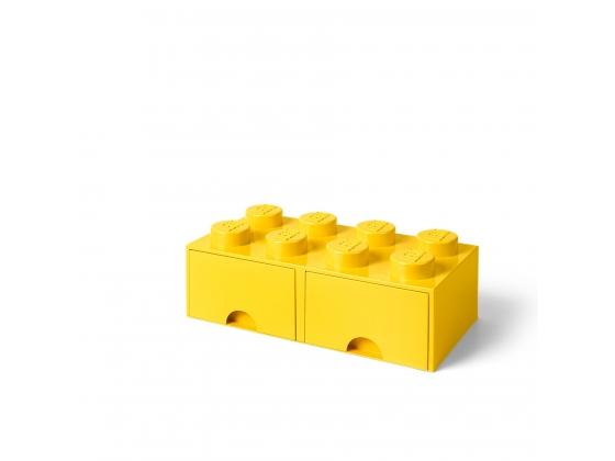 lego hellgelbe aufbewahrungs box mit 8 noppen 5005400 1. Black Bedroom Furniture Sets. Home Design Ideas
