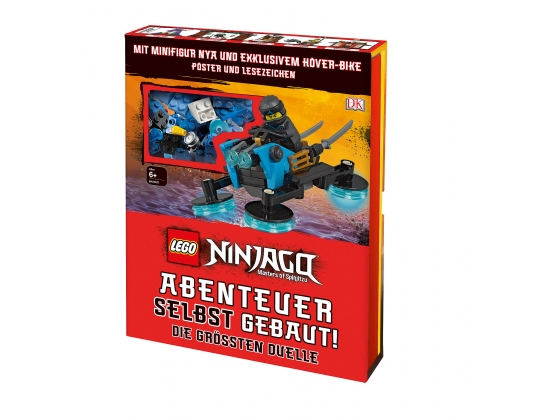 LEGO® Books LEGO® NINJAGO® Buildable adventures! (5005671) released in (2019) - Image: 1