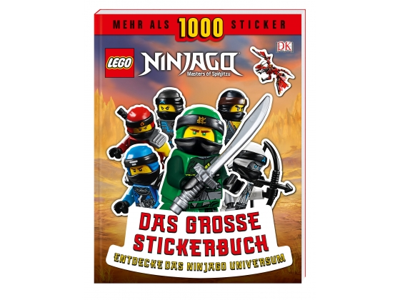 LEGO® Books LEGO® NINJAGO® Big Sticker book (5005674-1) released in (2019) - Image: 1