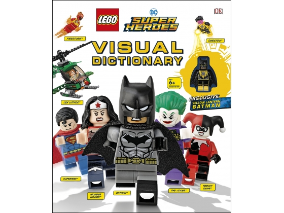 LEGO® Books LEGO® DC Super Heroes Visual Dictionary (5005730) released in (2019) - Image: 1