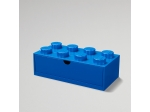 LEGO® Gear LEGO® 8-Stud Blue Desk Drawer (5005891) released in (2019) - Image: 1