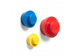 LEGO® Gear Red, Bright Blue and Yellow Wall Hanger Set (5005906) released in (2019) - Image: 1