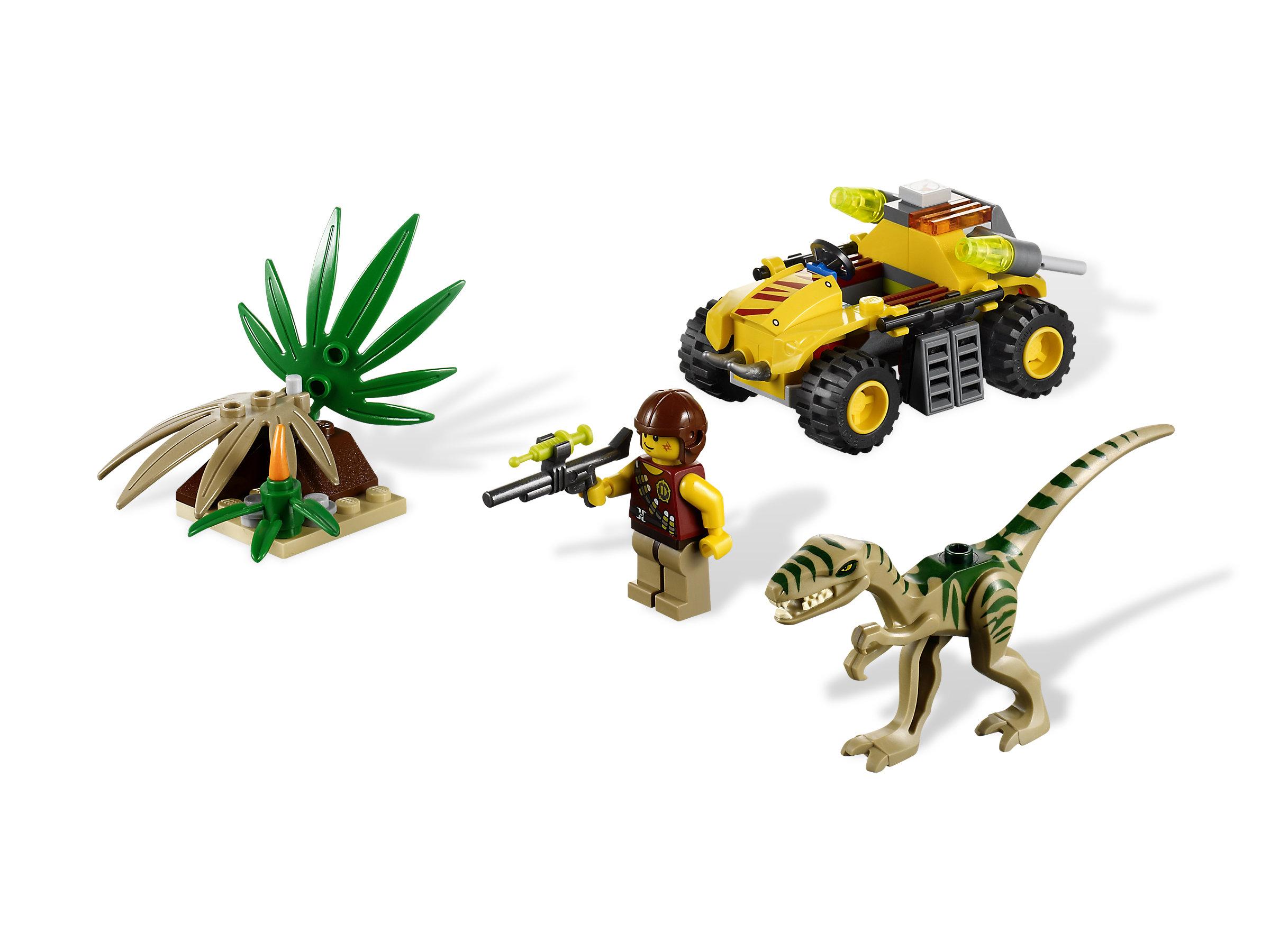 Triceratops Trapper DINO LEGO 5885 Triceratops Figure // Mini Figure