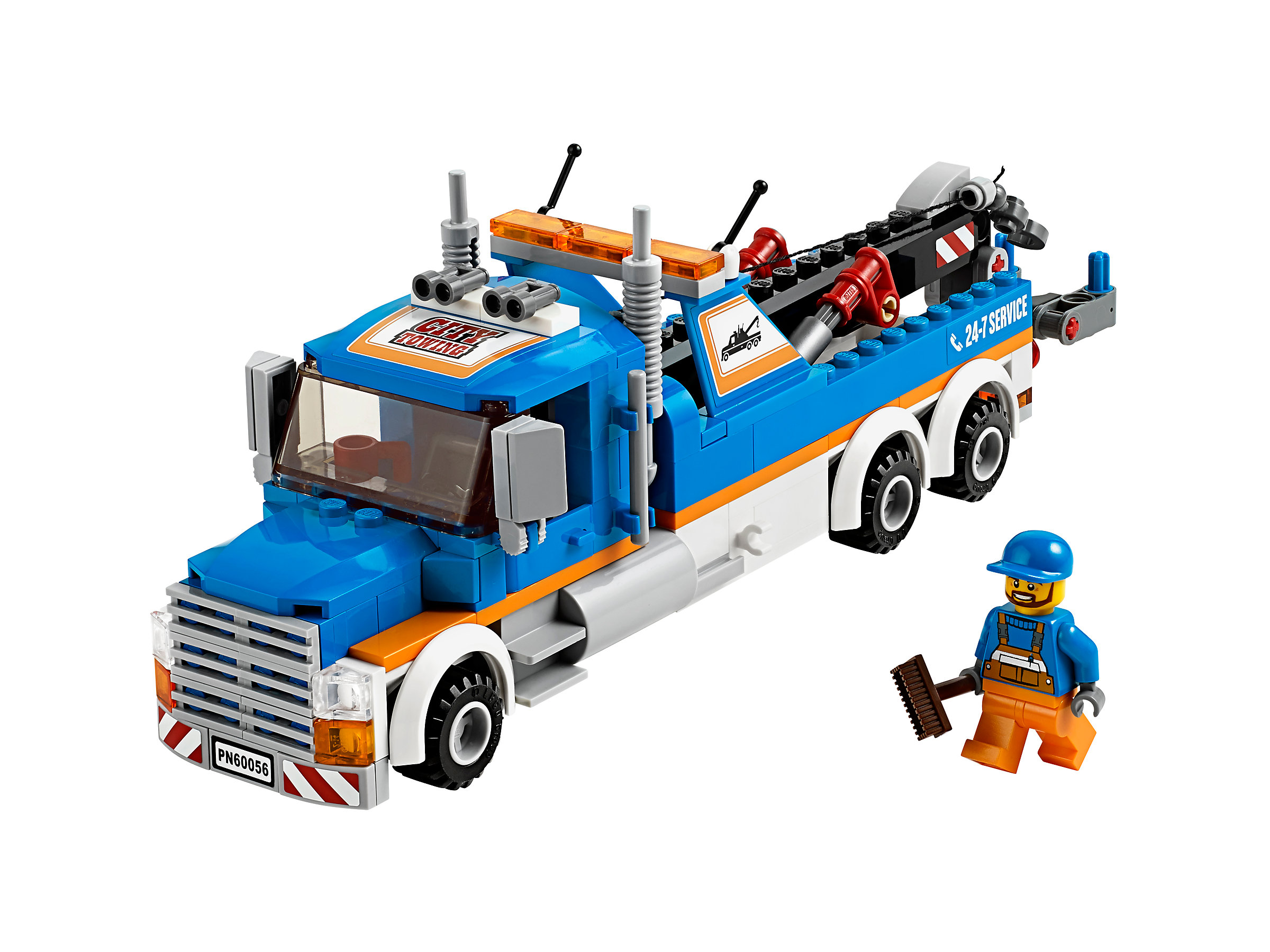 Tow Truck 60056 1 Lego City Police Prison Island Town Released In 2014