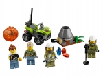 LEGO® Town Vulkan Starter-Set (60120-1) released in (2016) - Image: 1
