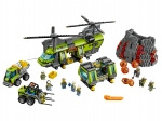 LEGO® Town Volcano Heavy-lift Helicopter (60125-1) released in (2016) - Image: 1