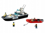 LEGO® Town Police Patrol Boat (60129-1) released in (2016) - Image: 1