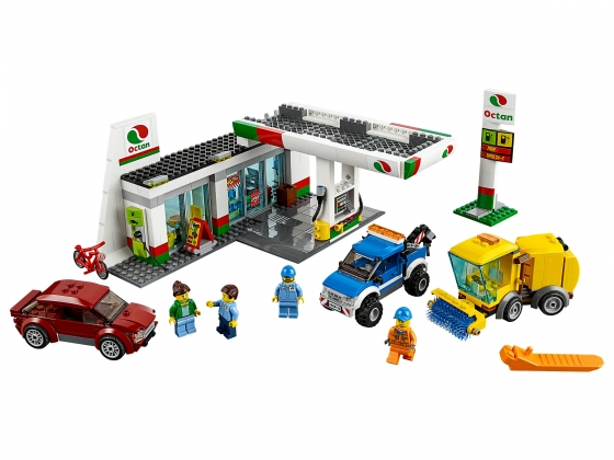 LEGO® Town Service Station (60132) released in (2016) - Image: 1