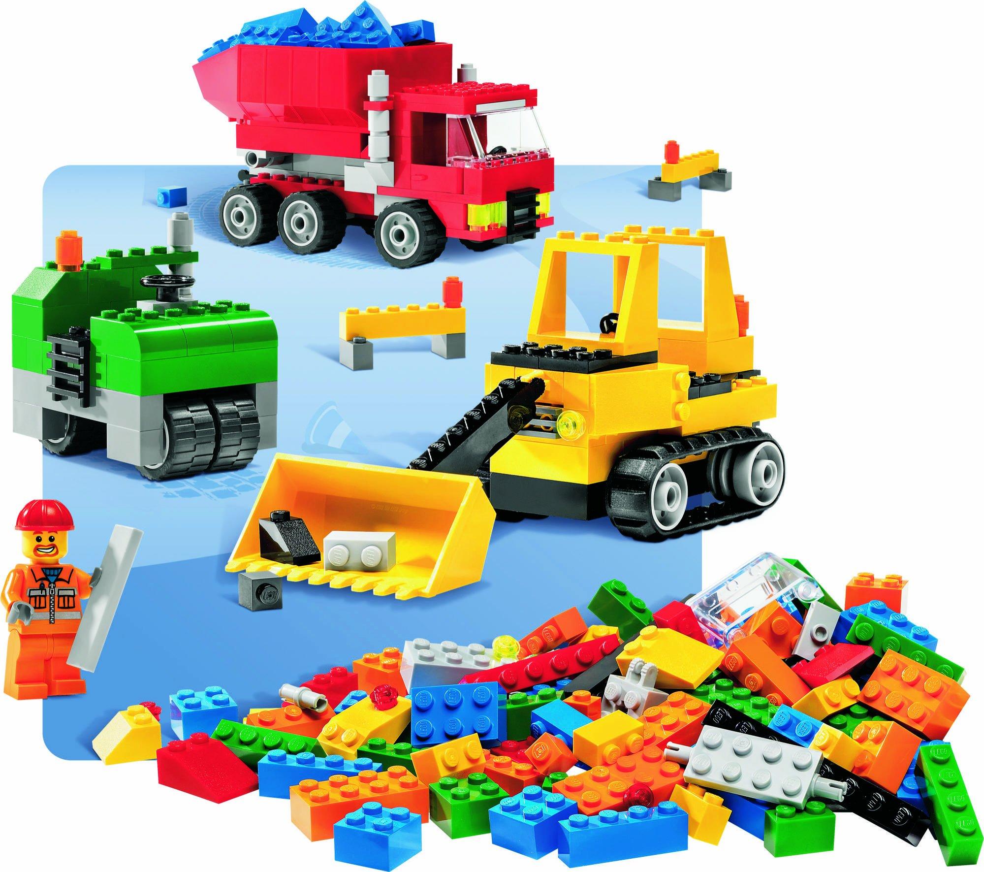 Baukästen & Konstruktion LEGO CREATOR ROAD CONSTRUCTION SET 6187 LEGO Baukästen & Sets