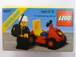 LEGO® Town Fire Chief's Car (6611) erschienen in (1981) - Bild: 1