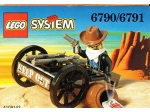 LEGO® Western Bandit's Wheelgun (Boxed) (6790-1) erschienen in (1997) - Bild: 1