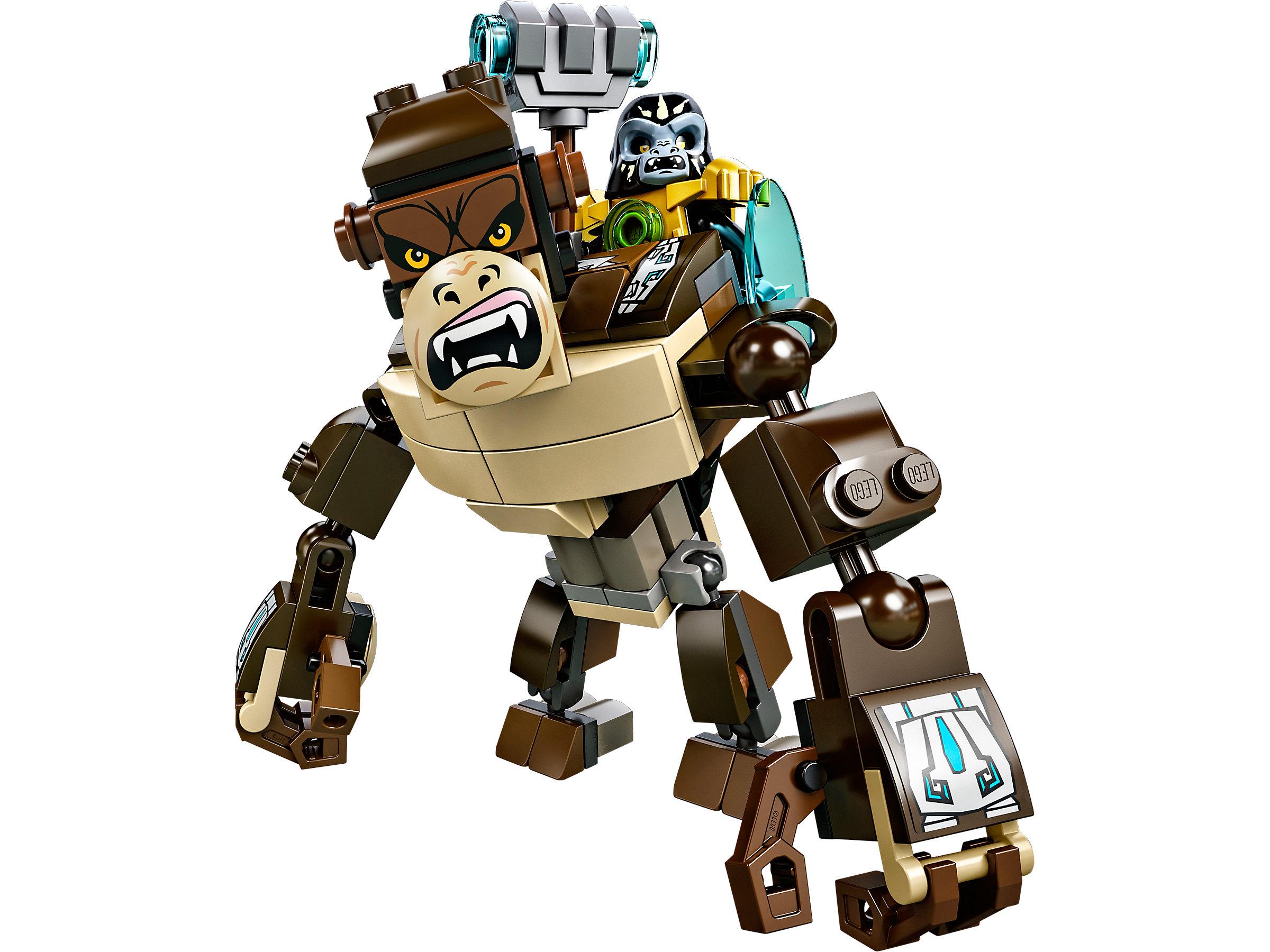 LEGO® Construction manual:Gorilla Legend Beast 70125