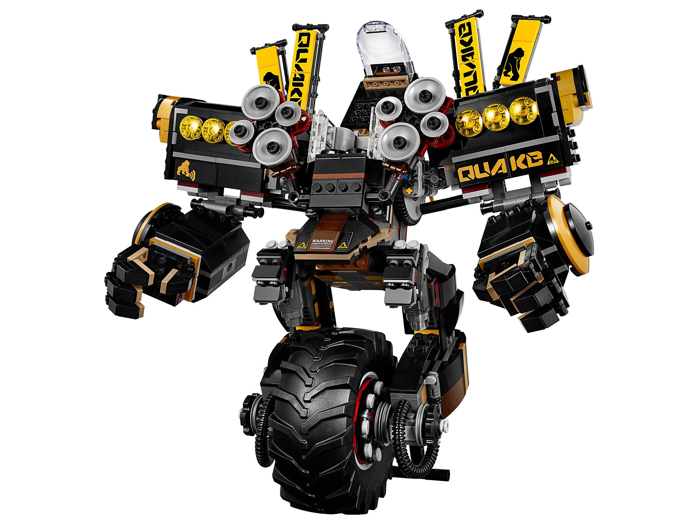 LEGO® The LEGO Ninjago Movie Cole's Donner-Mech 70632
