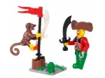 LEGO® 4 Juniors Harry Hardtack and Monkey (7081-1) released in (2004) - Image: 1