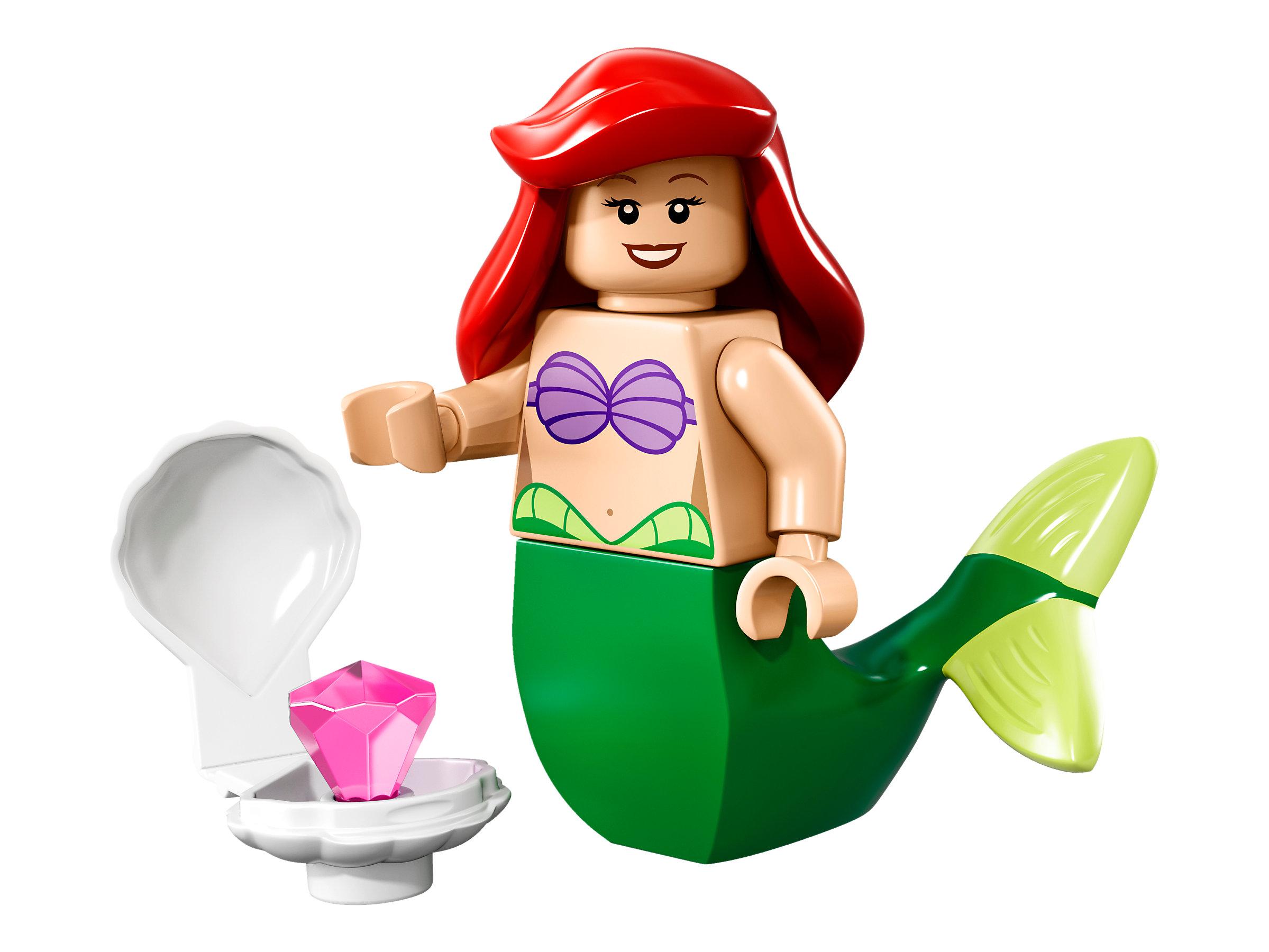 Lego 71012 DISNEY Series Minifigures Buzz Ariel Maleficent Alice Hook mini fig