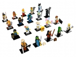 LEGO® Collectible Minifigures THE LEGO® NINJAGO® MOVIE™ (71019-1) released in (2017) - Image: 1