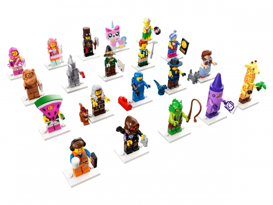 LEGO® Theme: Collectible Minifigures | Sets: 437