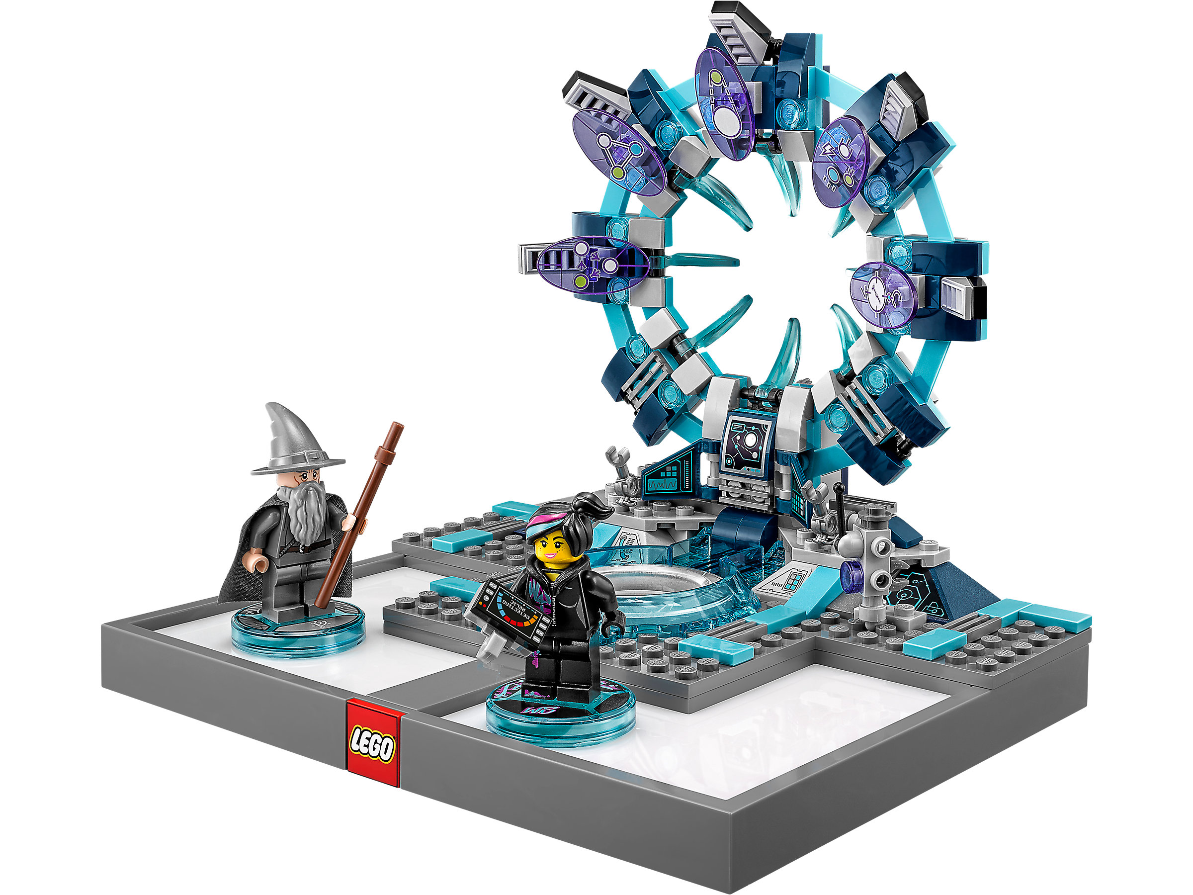 Lego Dimensions Toy Tag disc disque Gandhalf 71200