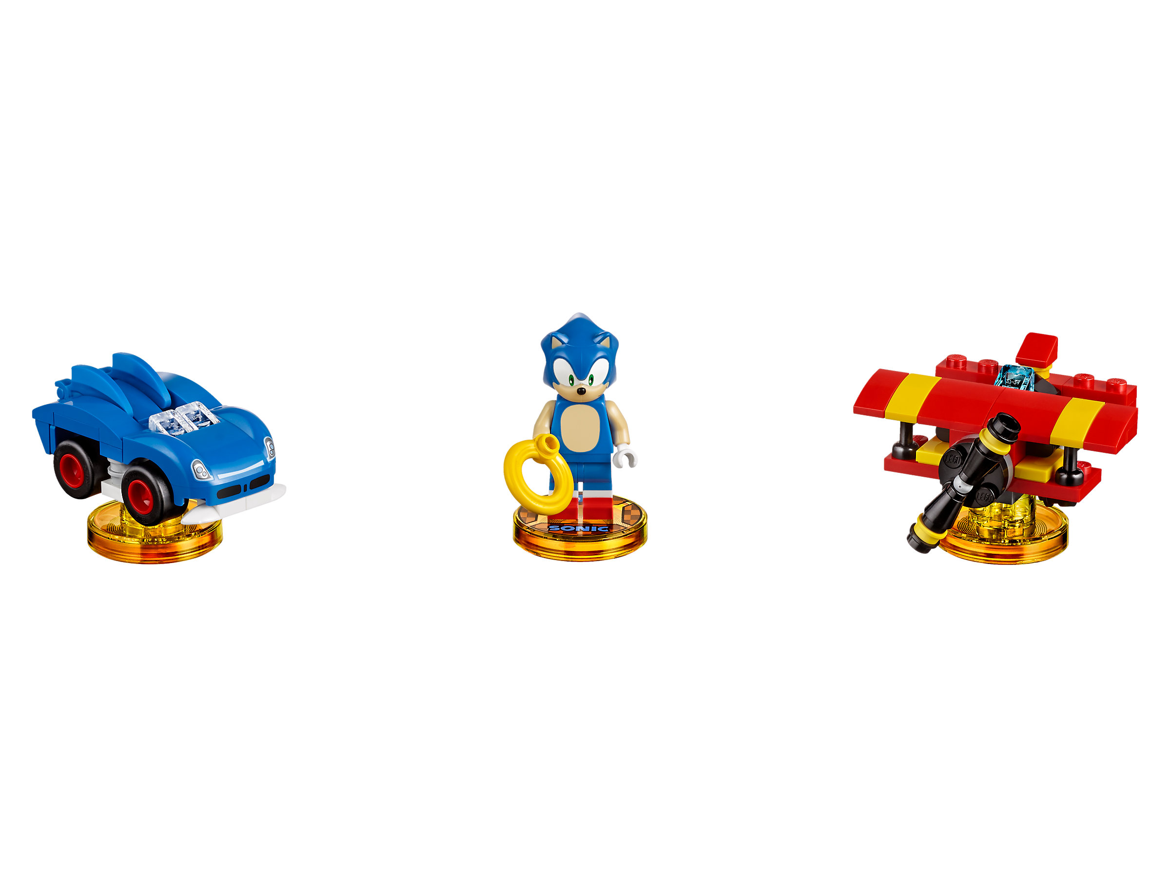 Lego Dimensions Sonic The Hedgehog Level Pack 71244