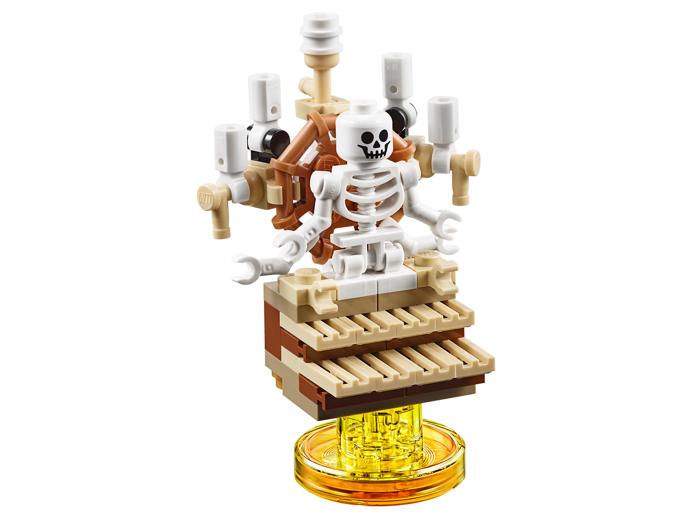 Lego Dimensions The Goonies Level Pack 71267 One Eyed Willy's Sloth Skeleton New