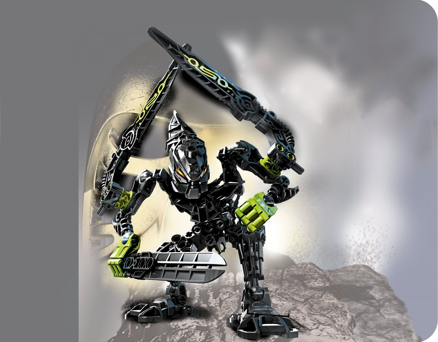 Lego Skrall 7136 Bionicle spare parts Black wings 64263 sold individually
