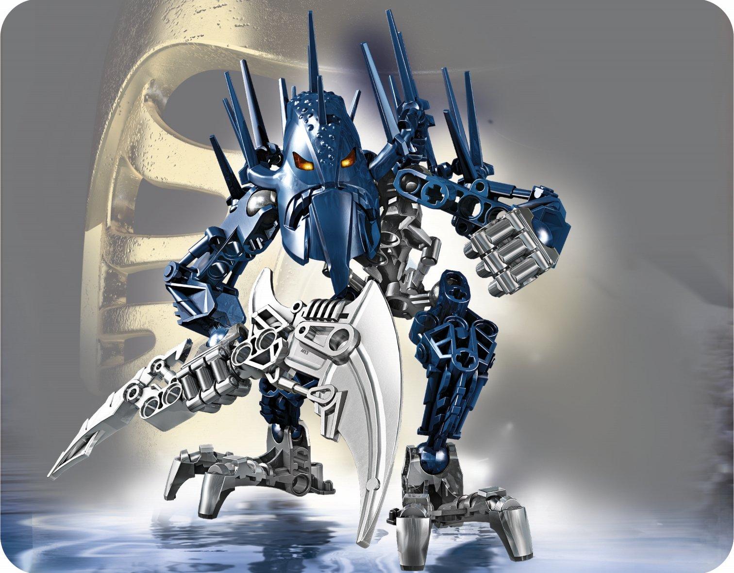 Zabawki konstrukcyjne LEGO Lego 7137 Bionicle Bara Magna Piraka complet à 100 % de 2010 C39 Zabawki konstrukcyjne
