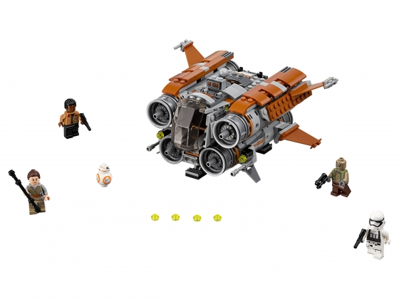 LEGO® Star Wars™ Jakku Quadjumper™ (75178-1) erschienen in (2017) - Bild: 1