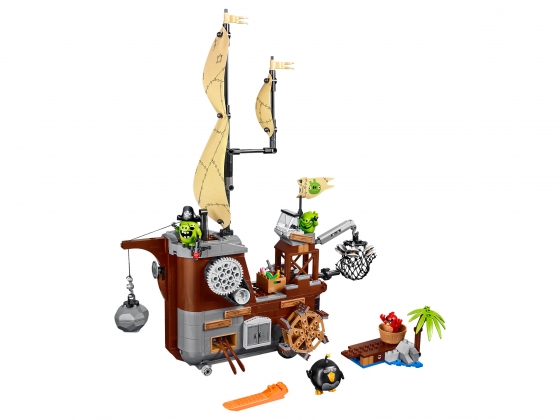 LEGO® Angry Birds Piggy Pirate Ship (75825) released in (2016) - Image: 1