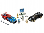 LEGO® Speed Champions 2016 Ford GT & 1966 Ford GT40 (75881-1) erschienen in (2017) - Bild: 1