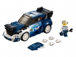 LEGO® Speed Champions Ford Fiesta M-Sport WRC (75885-1) released in (2018) - Image: 1