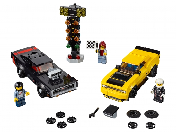 LEGO® Speed Champions 2018 Dodge Challenger SRT Demon and 1970 Dodge Charger R/T (75893-1) released in (2019) - Image: 1