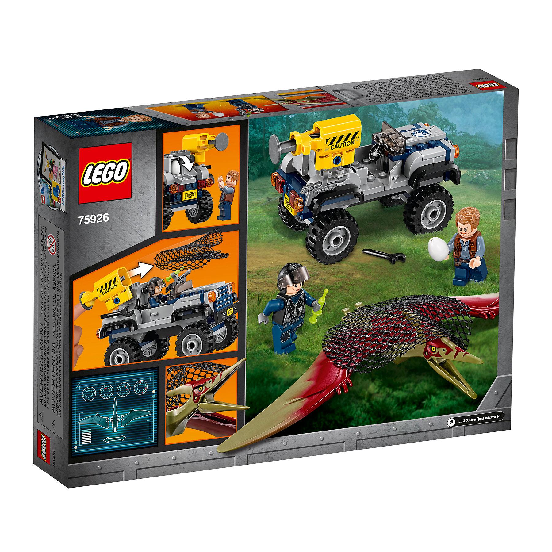 75926 126pcs LEGO Jurassic World Pteranodon Chase NEW
