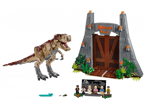 LEGO® 4 Juniors Jurassic Park: T. rex Rampage (75936-1) released in (2019) - Image: 1