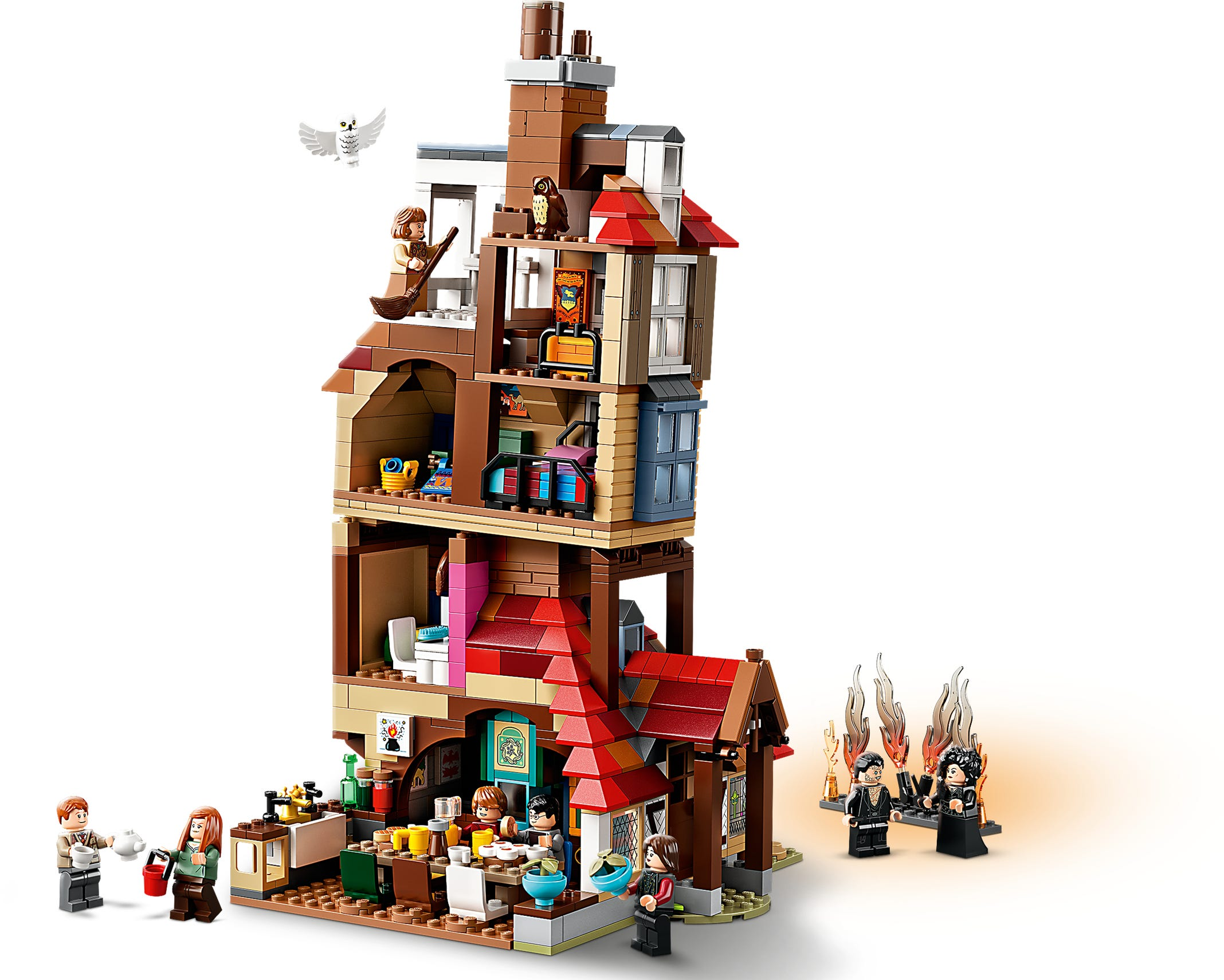 Angriff auf den Fuchsbau OHNE FIGUREN 75980 LEGO HARRY POTTER